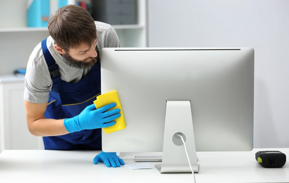 Desk top Areas That are Often Missed While Cleaning